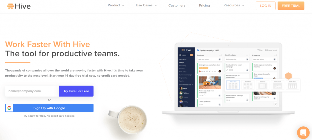 hive-best-marketing-project-management-software