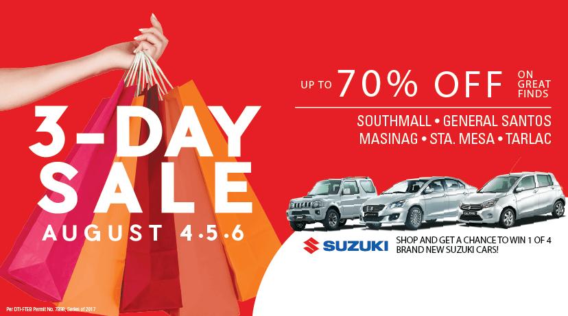 suzuki-3-days-sale