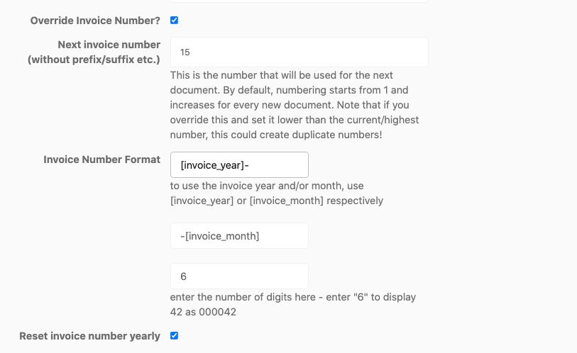vendor dashboard settings