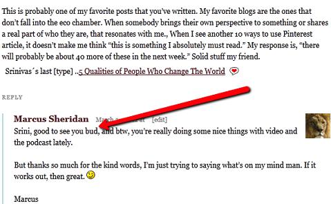 Blog commenters