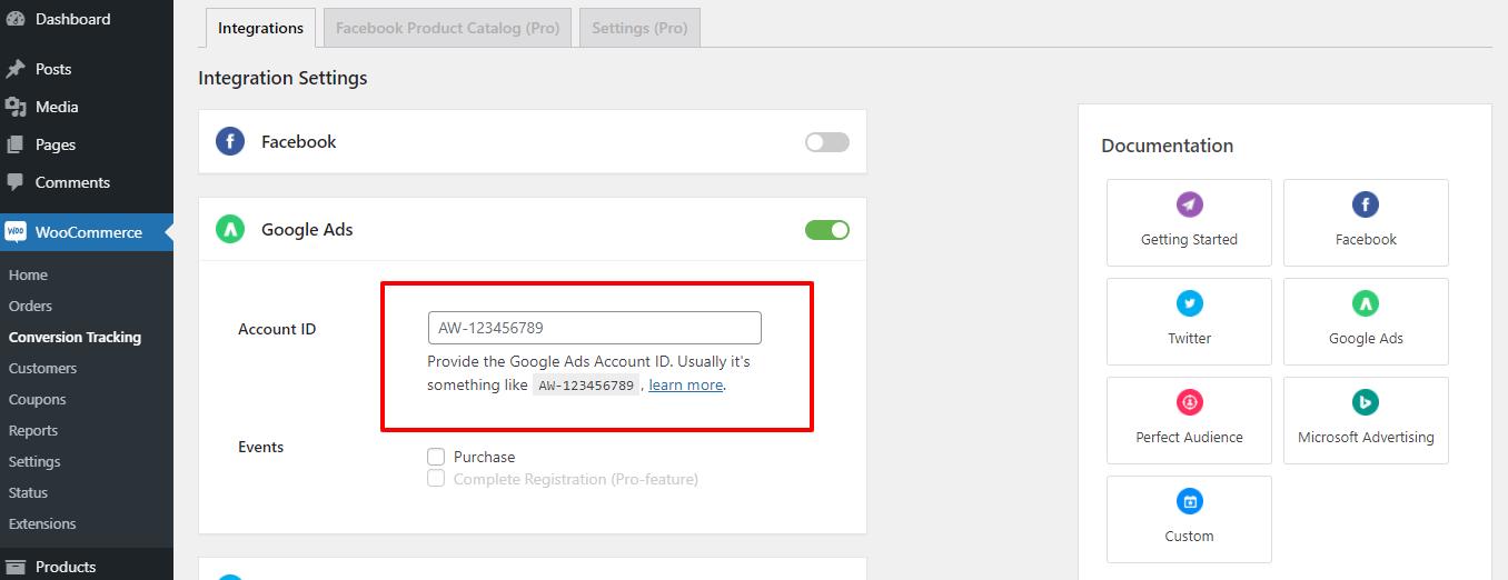Google account ID