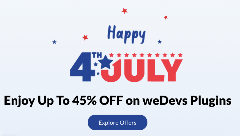 independence day marketing campaign coupon