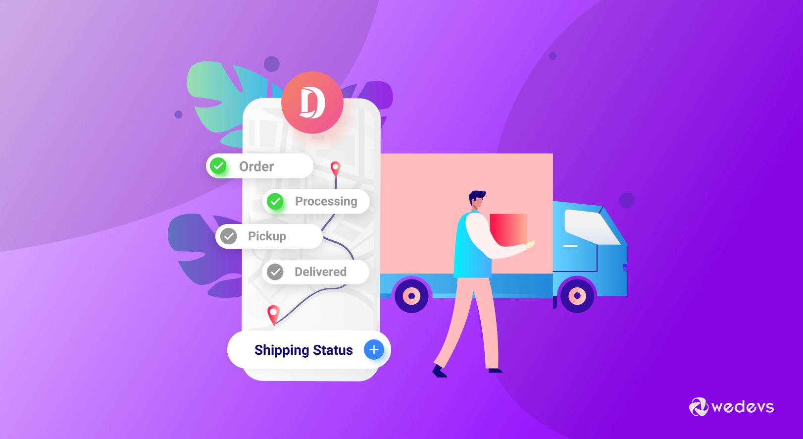 eCommerce shipment tracking