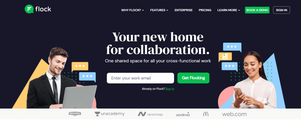 flock-Project Collaboration Software