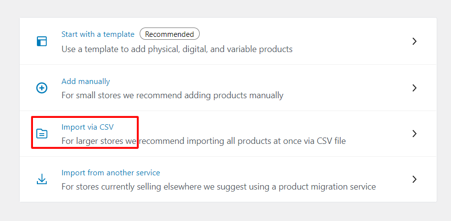 migrate from Shopify to WooCommerce- import via csv