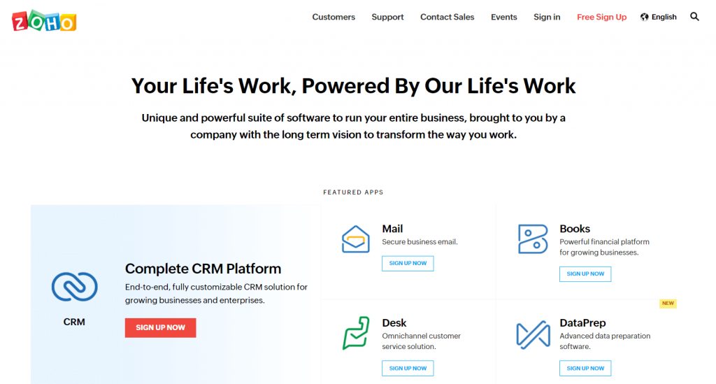 Zoho Projects- Best Collaboration Software