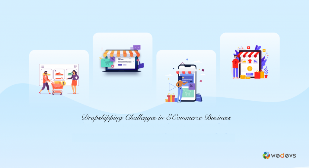 Dropshipping buisiness model challenges