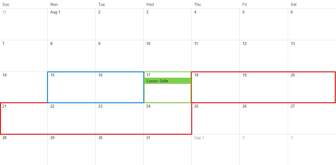 Dokan WooCommerce Booking Calendar view