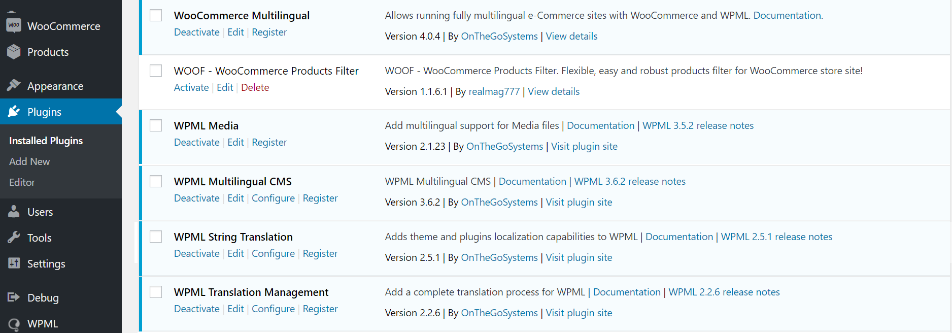 dokan wpml required plugins